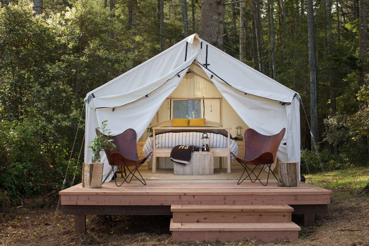 & Excursions: California Summer Glamping - Arrive Marin